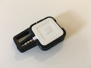 Square Card Reader Keychain