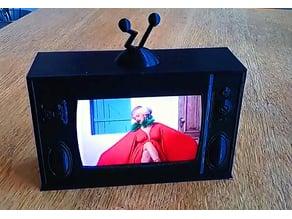 Retro Style Working Miniature Television