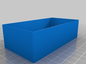My Customized Parametric box with no top