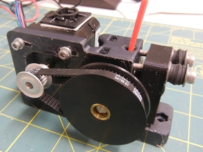 Greg's Wade Accessible Belt Drive Extruder