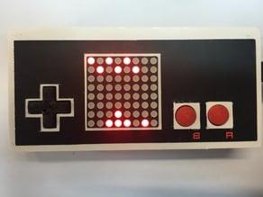 Nantendo LED matrix console game