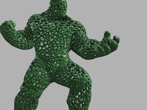 HULK 3D : VORONOI !
