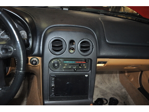 Mazda Miata NA Commander vent ring