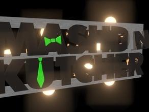 Mashd N Kutcher 3D Logo