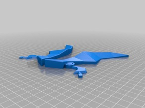 TheKretchfoop's claw for printing without support