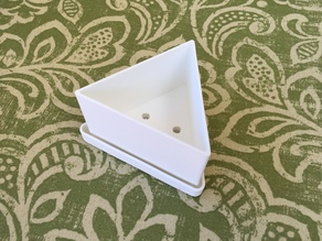 Saucer for the small Modular Geometric Planters - Boxzy