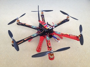 3D Printed Hexacopter