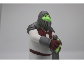 Shrek in Armor (MMU-ready)