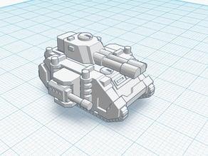 Predator Annihilator tank for Epic 40K (6mm Scale)