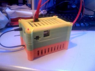 Cubieboard Tower Case - PSU Section