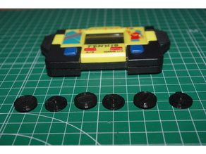Battery cover - lcd video game no brand