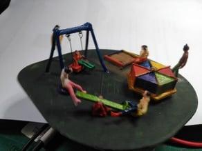 Children Playground Park H0 00 Animated