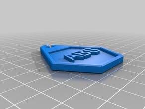3D Filament Tags