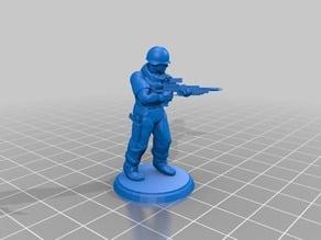 Modern Soldier - Laser Rifle