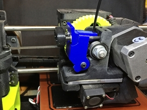 Heavy Duty Extruder Idler and Latch for Lulzbot Mini