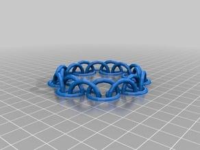 Customizable Half Circle Chain Bracelet