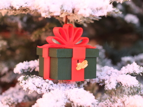 Lockable Present Ornament