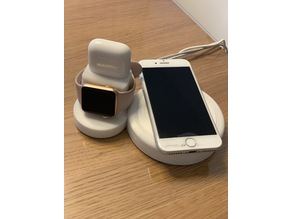 Apple Airpod Apple Watch and iPhone Charging Stand