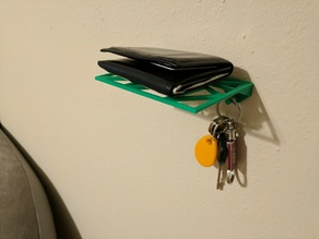 Geometric Wallet and Keys Holder
