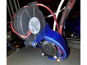 Radial Fan Fang for Creality CR-10
