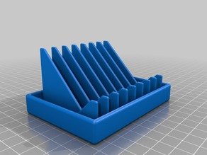 Soap tray with optional tube mount for 18 mm tube