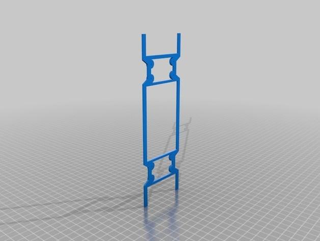 ThrustMasterTSS Handbrake Sparco Mounting template by R3LapZ