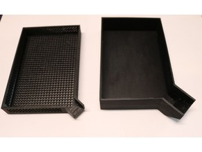 Pourable Perforated Trays