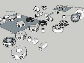 Print-In-Place Ball Joints