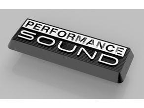 Performance Sound Badge - Firebird