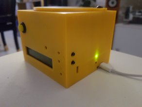 Enclosure for geiger counter by impexeris with SI8B tube