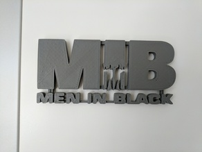 Men in Black Logo (Marvel)
