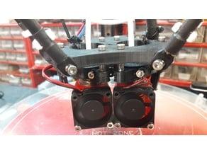 dual e3d v6 effector adjustable