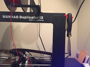 Wanhao Duplicator i3 V2 Scraper Hook/Tool Hook