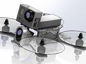 Gopro & Xiaomi Yi generic strap-on mount