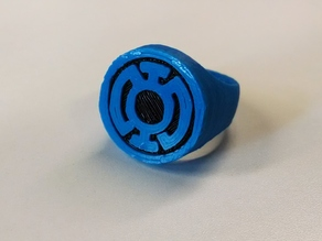 Blue Lantern Ring for Dual Extrusion