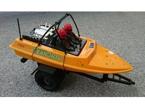 1:10 offroad boat trailer for NQD Jet Boat