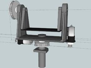 Video pan/tilt module v3