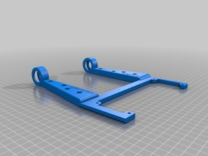 Anet A8 spool holder improved for 6001 bearings