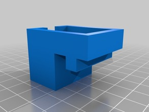 Leveling module (Z-Probe) holder for anycubic delta