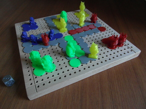 Makerboard Game #2: German-Style Pachisi