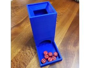 Big Dice Tower for Small Printers