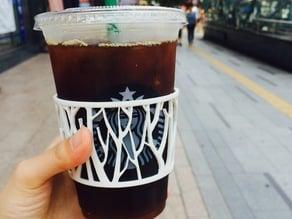 Tree Cup Holder_for Starbucks venty, grande