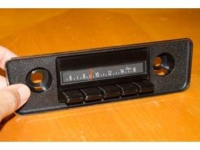 GM 70's Style Faux Car Radio