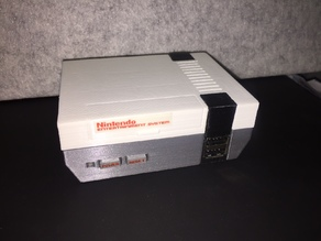 Remixed Raspberry Pi NES Case