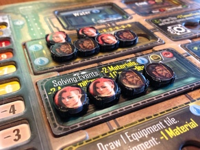 Token Adapter for Outlive Boardgame