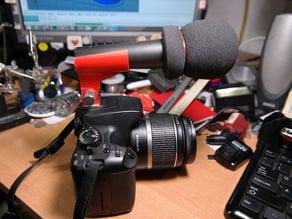 Adjustable Hotshoe Microphone Holder