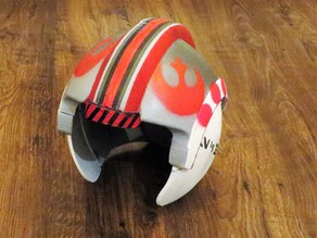 Rebel x-wing pilot helmet
