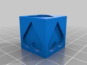 20x20 Calibration cube