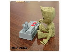 Baby Groot 5-5 (Don't Push This Button)