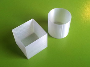 Box and Cup Tutorial